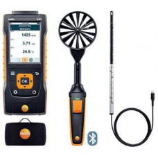 Testo 440-AF-KIT-1 (0563 4406) Bluetooth Air Flow ComboKit 1 with 440 Air Velocity and IAQ Measuring Instrument
